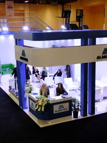 ALMETKA MADE AN INDELIBLE IMPRESSION ON SCAFFOLDING AND FORMWORK FAIR
