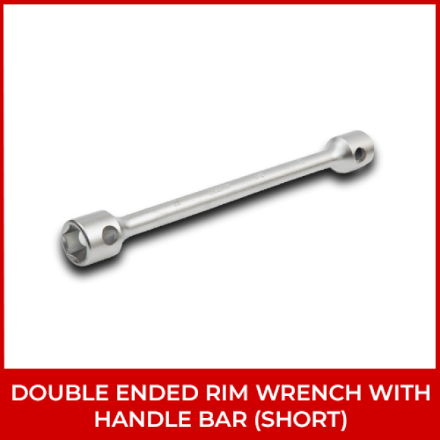 Double Ended Rim Wrench With Handle Bar (Short)