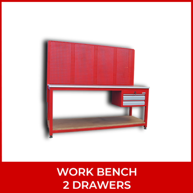 Work Bench – 2 Drawers