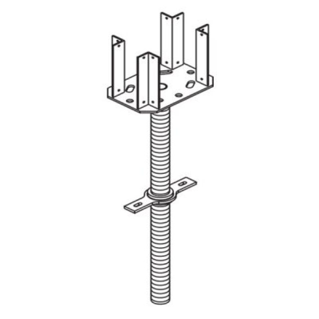 FOUR WAYS HEAD SPINDLE